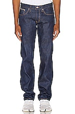 Naked & Famous Denim Weird Guy Jeans in Kasuri Stretch Selvedge