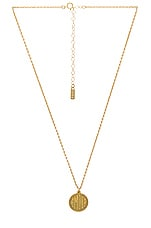 Natalie B Jewelry Amour Charm Necklace in Gold