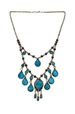 The Lady Madonna Necklace in Turquoise