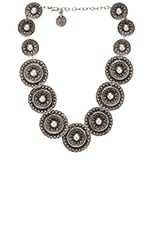 Warrior Shield Necklace in Silver