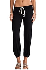 Medora Capri Sweatpants in Black