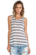 Solano Canyon Tank in Oatmeal Stripe