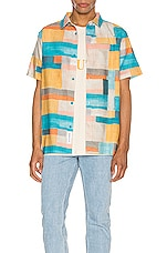 Native Youth Cubik Short Sleeve Shirt in Multi