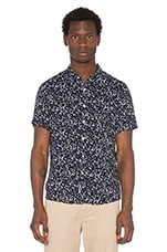 Ink Blot Shirt in Navy