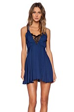 Play Date Fit & Flare Dress in Navy
