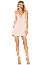 NBD x Naven Twins Sugar Sugar Dress in Blush Pink