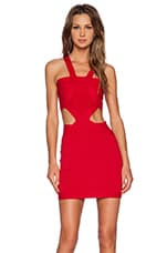 My Confessions Bodycon Dress in Red