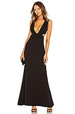 NBD Yani Gown in Black