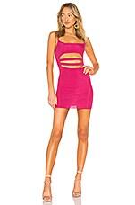 NBD Carnation Mini Dress in Hot Pink