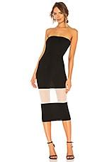 NBD Primrose Midi Dress in Black