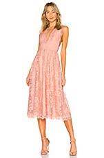NBD Mary Lynn Midi Dress in Light Pink