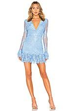 NBD Amanda Mini Dress in French Blue
