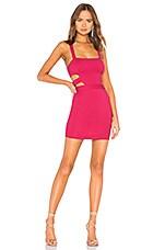 NBD x NAVEN Jill Dress in Hot Pink
