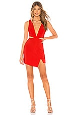 NBD Natalia Dress in Ribbon Red
