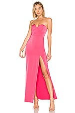 NBD Mandy Gown in Hot Pink