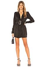 NBD Shania Mini Dress in Black