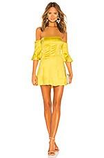 NBD Iris Mini Dress in Yellow