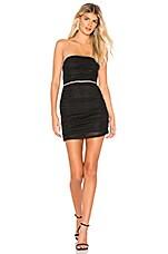 NBD Skyler Mini Dress in Black