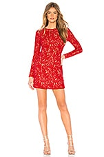 NBD Foxy Mini Dress in Red