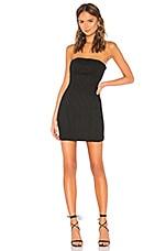 NBD Zhora Mini Dress in Black
