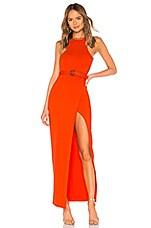 NBD x NAVEN Sadie Dress in Red Coral