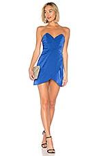 NBD Sofia Mini Dress in Bright Cobalt