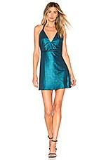 NBD x Naven Macie Dress in Teal
