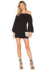 NBD Levent Mini Dress in Black