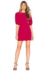 NBD Aine Mini Dress in Raspberry