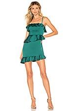 NBD Soozie Mini Dress in Emerald Green