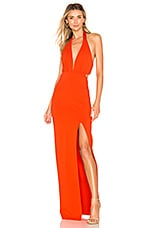 NBD Fenton Gown in Orange