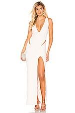 NBD Tweet Gown in Ivory