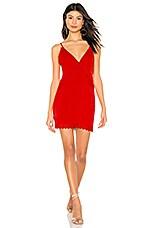 NBD x Naven Emma Dress in Salsa Red