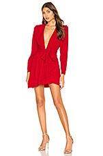 NBD Edie Mini Dress in Candy Red