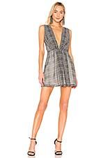 NBD Jennifer Mini Dress in Navy Stripe