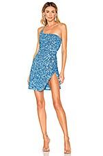 NBD x Naven Kelsey Dress in Wave Blue