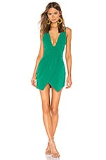 NBD Alexis Mini Dress in Kelly Green