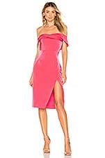 NBD Aster Dress in Fuchsia
