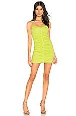 NBD Preslie Mini Dress in Pastel Lime