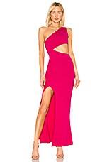 NBD x Naven Marissa Dress in Bright Pink