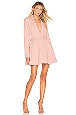NBD Justyna Mini Dress in Powder Pink