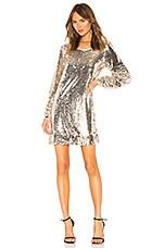 NBD Miss Right Mini Dress in Gold