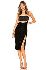 NBD Svetlana Midi Dress in Black