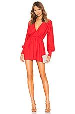 NBD Benita Mini Dress in Red Rose