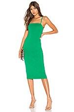 NBD Maureen Midi Dress in Kelly Green