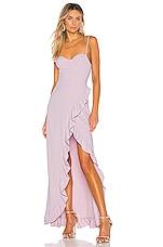NBD x Naven Serena Dress in Lilac