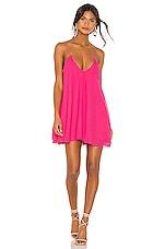 NBD Taurus Mini Dress in Hot Pink
