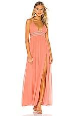 NBD Giavanna Gown in Sorbet Pink