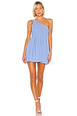 NBD Gelina Mini Dress in Periwinkle Blue
