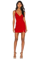 NBD Noah Mini Dress in Candy Red